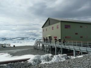 La base inglese di Rothera nella Penisola Antartica