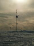 Ecco cosa é rimasto del campo beta: una stazione meteorologica, sentinella del clima che verrà