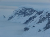 In volo verso Rhotera: ecco le montagne (per lo più inesplorate) della Penisola Antartica